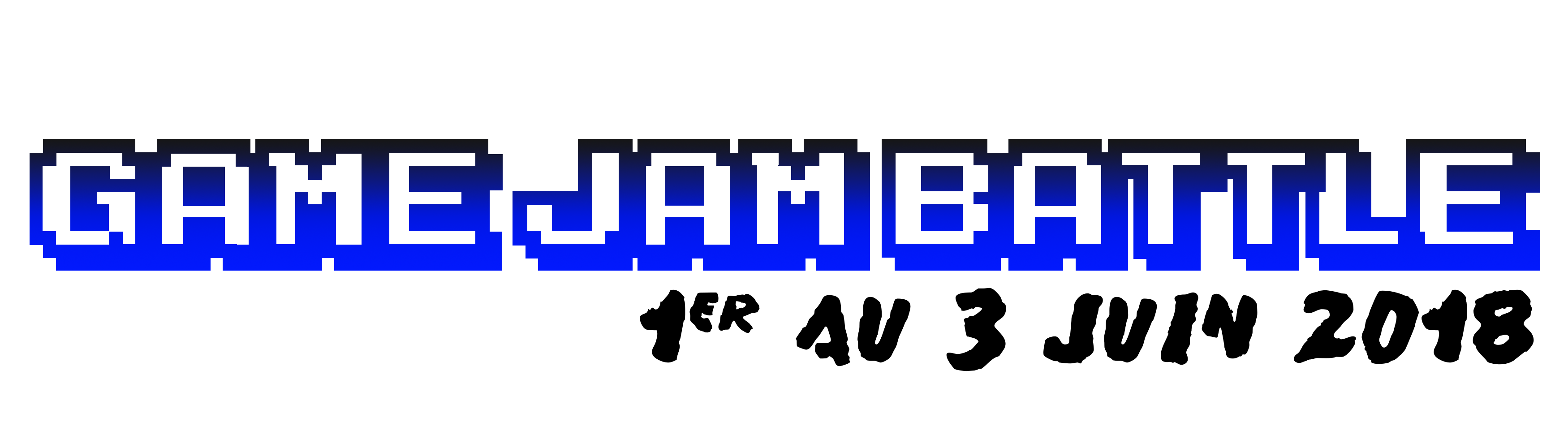 Logo du Game Jam Battle 2018 - 1er au 3 juin 2018